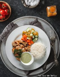 Shish-Tawook-With-Mint-Sauce-Healthy-Way