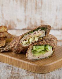 Turkey-Chip-Wrap-Healthy-Way