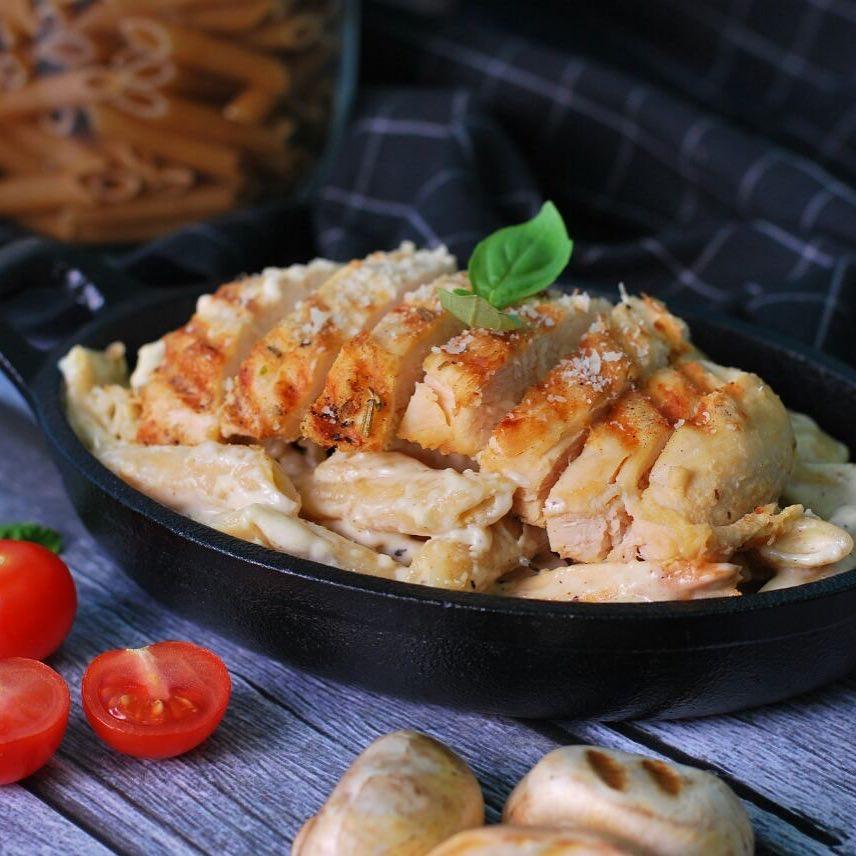 Penne Chicken Mushroom