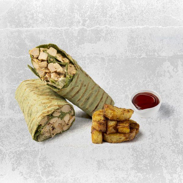 chicken ceaser wrap